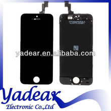 Lcd and digitizer For Iphone 5C display assembly for Iphone 5C aaa class front glass