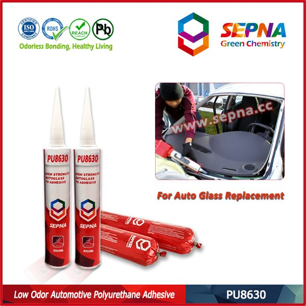 FACTORY PRICE PU8630 weather resistance moisture curing pu sealant adhesive and sealant for car side glass