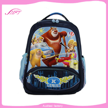 Factory OEM new design school bag funky beautiful cartoon picture of school bag