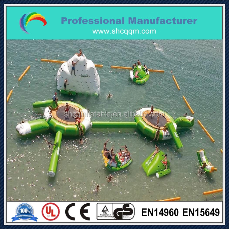 Inflatable Water Entertainment, Inflatable Commerical Water Park Games For Children Or Adults