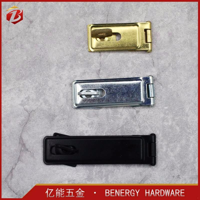 Hot Selling Exporting standard Wholesale gold iron hasp staple