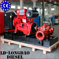 Non UL/FM Listed 30-300hp 2900rpm Diesel Engine Fire Pump