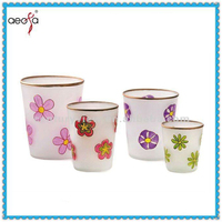 small home goods custom printed flower pots