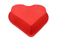 Heart shaping Large silicone cake mold bakeware decorating diy chocolate mould microwave cooking baking tools silicon baby molds