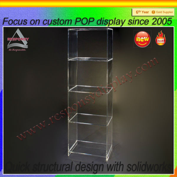 large acrylic display cubes for retail stores