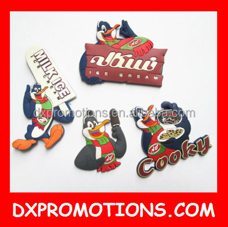 cute 3d rubber fridge Magnet/3D custom advertising magnet