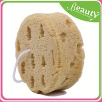 Colorful nine section hihg quality bath sponge natural ,h0tL7 foam bath sponge for sale