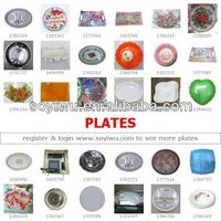 WICKER PICNIC PLATES wholesaler for Plate