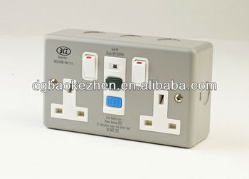 0230SMG 2G metal RCD, CE approved