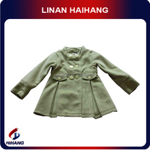 plush long wholesale kids coats