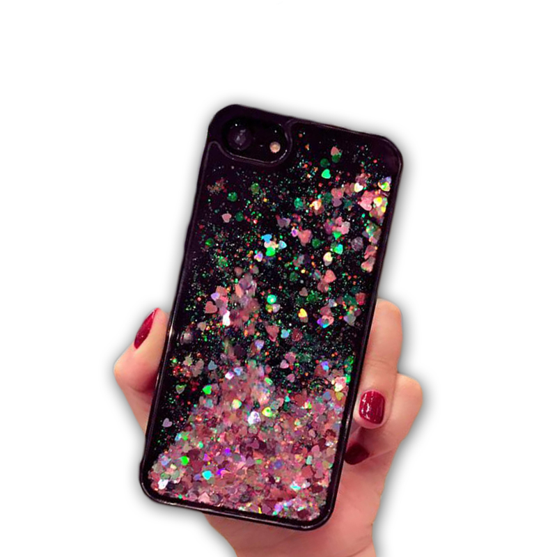 Dynamic Sand Glitter Bling Bling Quicksand Liquid Phone Cases for iPhone xs for iPhone xs <strong>max</strong>