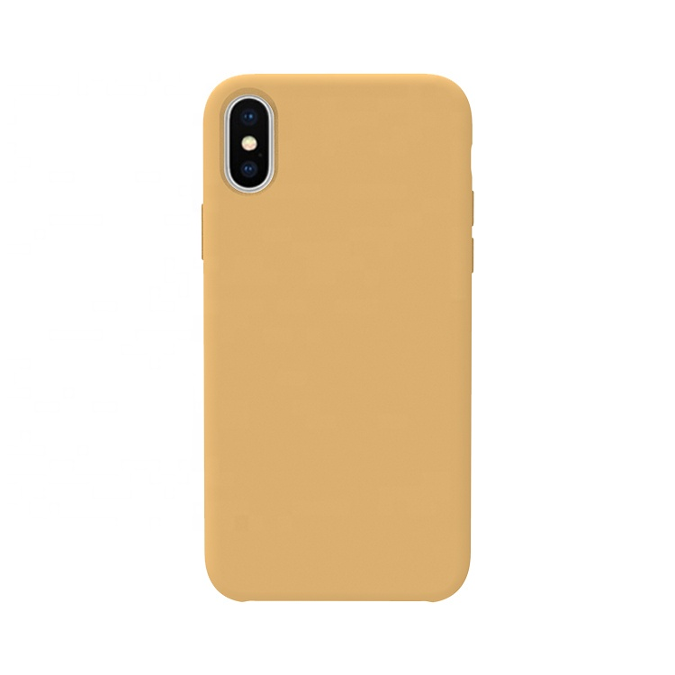 Personalized Solid Color Shock-proof Liquid Silicone Rubber Snap-on Case for OnePlus 7 Pro 5G 6 6T 5 5T 3 3T <strong>X</strong> 2 One Mclaren