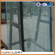 Cracked Ice Laminated Glass Broken Glass Table