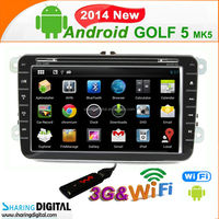 Android car gps Support wireless IPOD Car Radio GPS Navigation System for VW Golf 5(MK5)