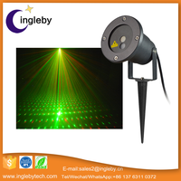 Low MOQ 15w outdoor equipment mini red-green party stage laser light projector