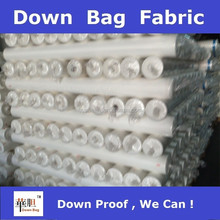 types of jacket fabric material down proof bag fabric for down jacket