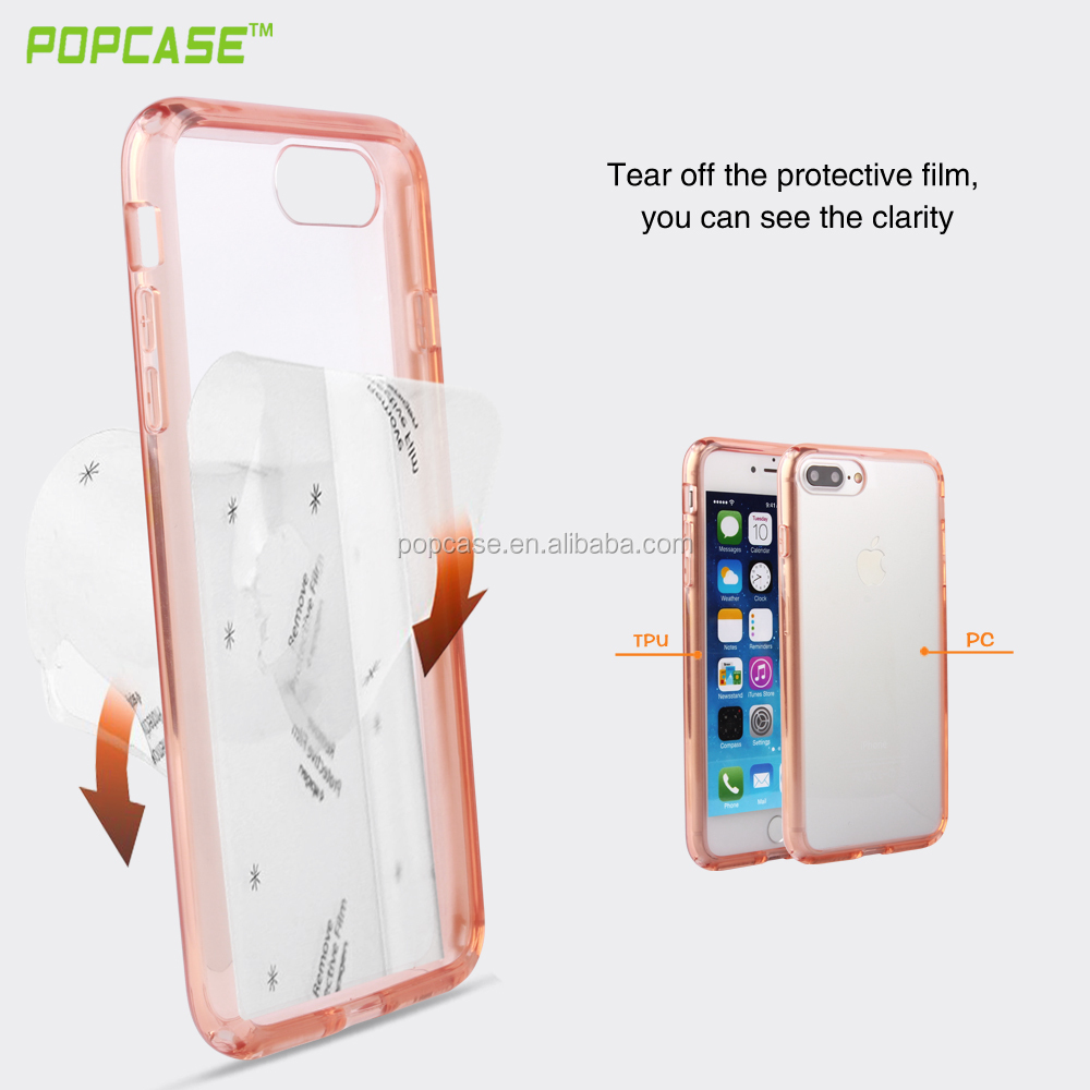 new products 2016 Full protective can make matte coating strongbox combo mobile phone case for IPhone7 plus