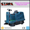 1400 power broom sweeper road sweeping machine floor cleaning machine with two brushes