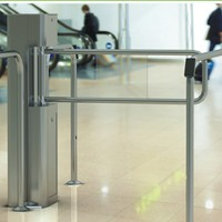 high quality cheap access control manual swing barrier gate