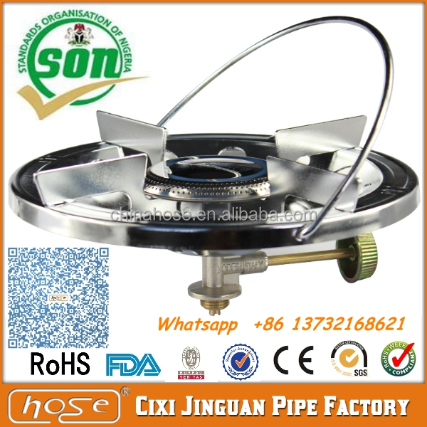 Factory Supply Directly Nigeria Cheap LPG Portable Camping Gas Stove, Camping Stoves And Accessories, LPG Gas Stove Cooker