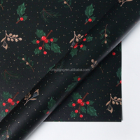 Various design for new christmas wrapping paper rolls