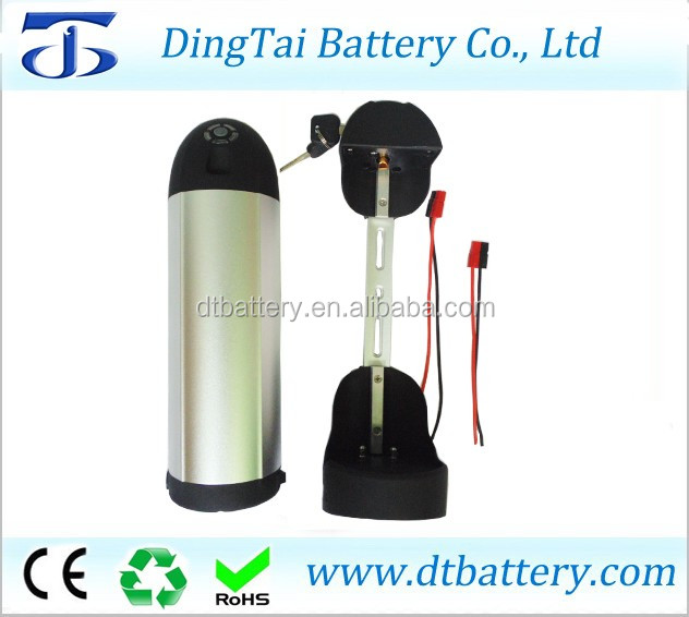36 volt lithium ion battery 36v 20ah 10s6p bottle battery for electric bicycle