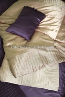 Silk satin comforter sets
