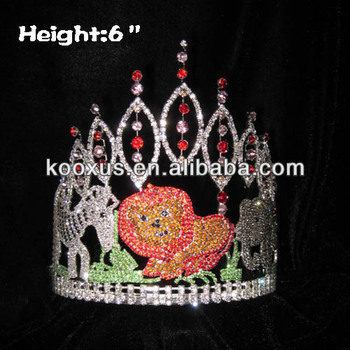 6 inch Jungles Forests With Animals Pageant Crowns Pageant Crowns tiara