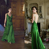 Celebrity Inspired Keira Knightley Green Vintage Prom Dress In Movie Atonement