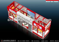 12x3 exhibition booth & stands for Food Acc.s