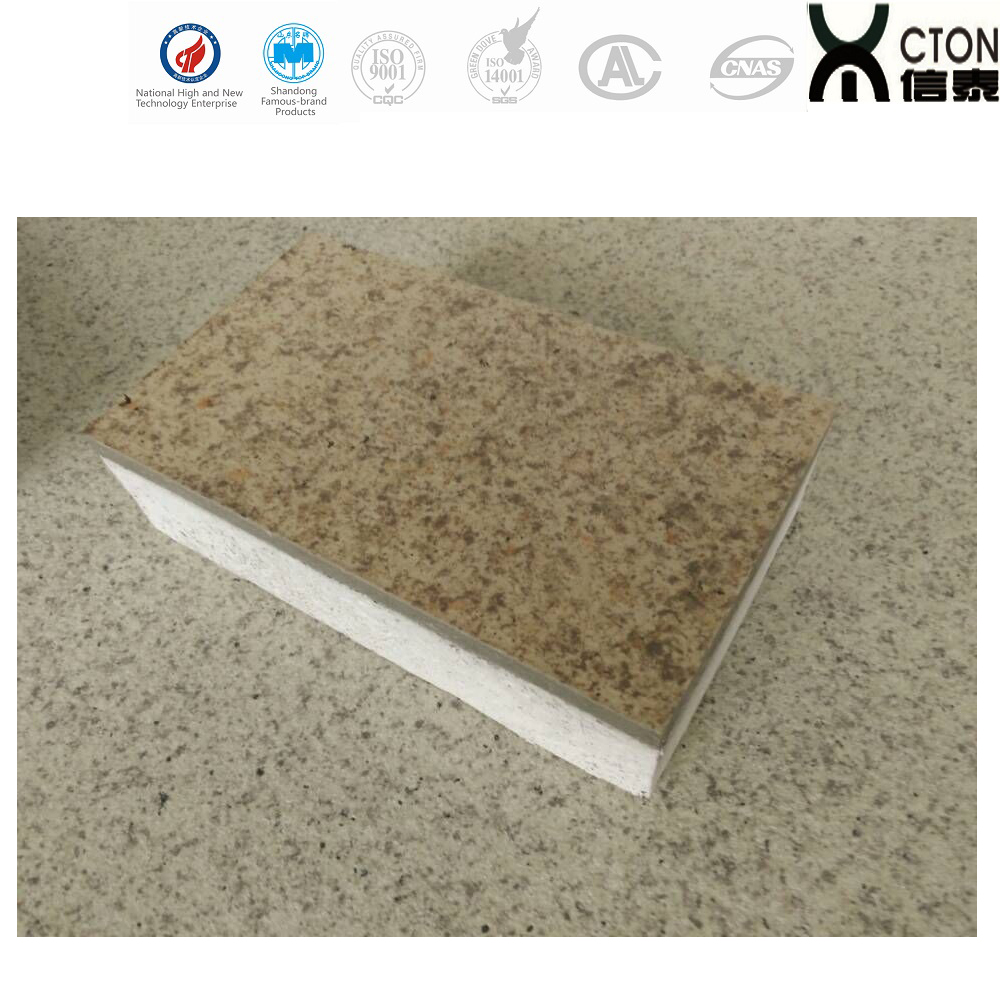 Fireproof insulation eps sandwich panel calcium silicate board