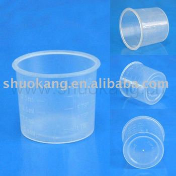 Plastic measuring cups(Disposable cups,PP cups)