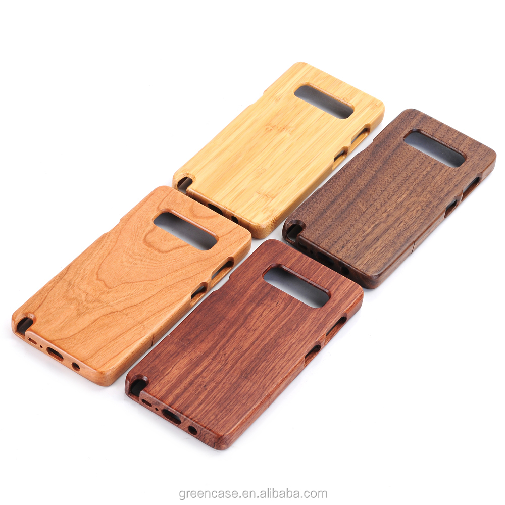 Pure Color Wooden Handmade Cell Phone <strong>Accessories</strong> Mobile Phone Bags for Samsumg Note8
