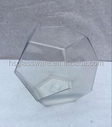 Wholesale Transparent Geometric Candle Lantern For Weddings