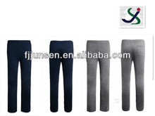 2014 elastic long pants brushed tricot fabric trousers