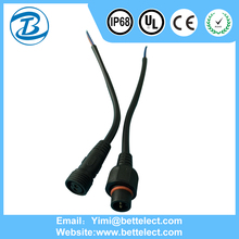 Hot Selling Female Male 2 Pin 3 Pin 4 Pin Waterproof IP68 Connector