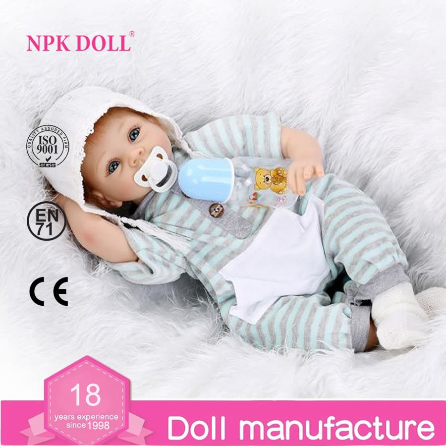 Hot sale soft silicone reborn baby dolls 22'' lifelike real baby Doll Real like baby