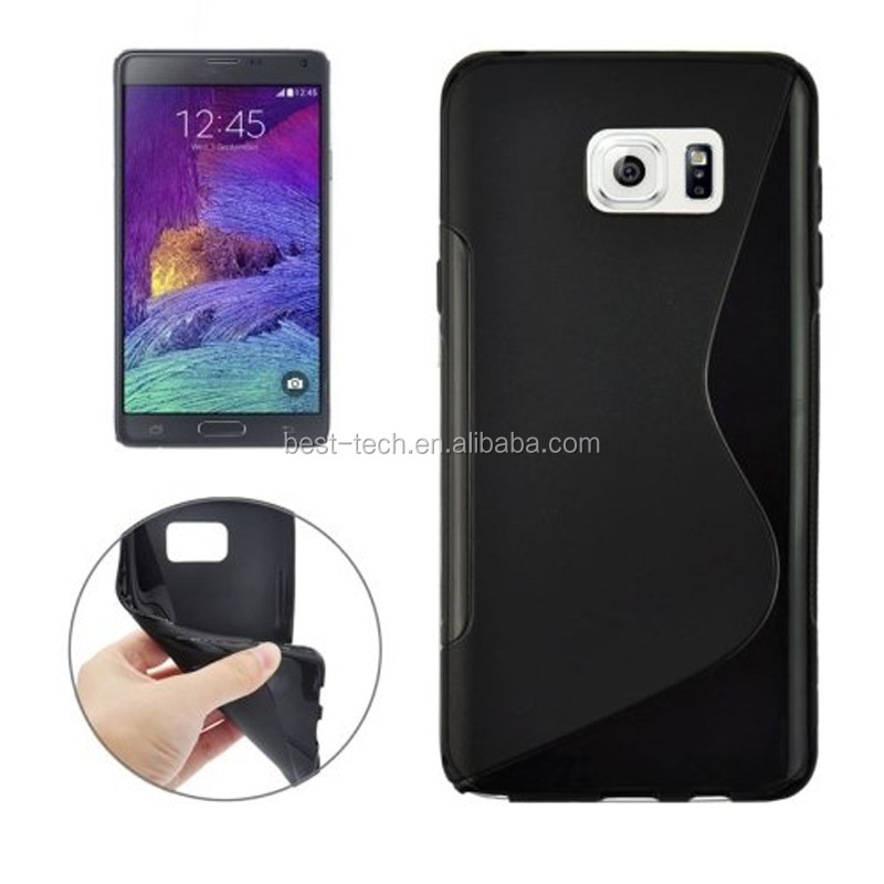 S Line Soft TPU Back Cover Cases for Samsung Galaxy Note 5