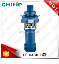 4KW 2 1/2'' hot sale QY series cast iron oil oil-immersed oil filled borehole centrifugal submersible pump large flow mine