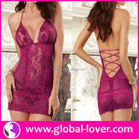 2016 hot selling mature girl lace satin lingerie pics
