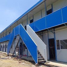 Prefab Labor camp dormitory from China manufacture