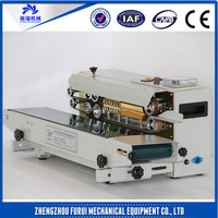 New type plastic film continuous sealing machine/plastic sachet bag film sealer machine