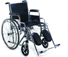 Freely Featured Manual Wheelchair With Reclining Backrest