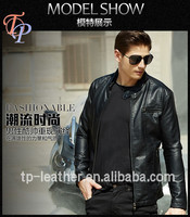 Cheap Mens PU Leather Jacket Motorcycle Jackets