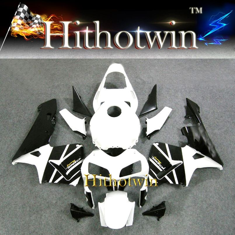 2003 2004 CBR600RR fairings For HONDA CBR600RR - Fairing White Black Fit CBR 600RR 2003 2004 ABS Plastic Bodywork Set