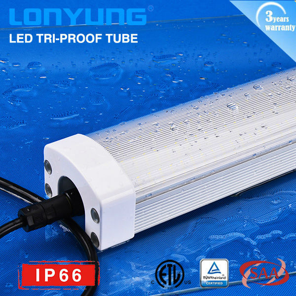 hot new products for 2015 4FEET IP66 120v,220volt,277v ac 4 ft china supplier outdoor led light tile ip66 50w 60w
