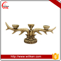 China wholesale restaurant decoration antler candle holder