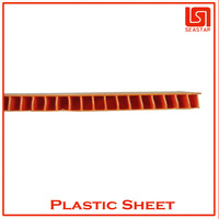 Hot sale high temperature plastic sheet corrugated ISO cerfified
