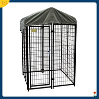 large outdoor dog kennel cages pet cat cage pen crate fence garden house