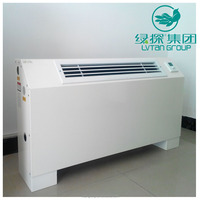 ISO approved environmental friendly air conditioning fan coil unit/hot water fan coil